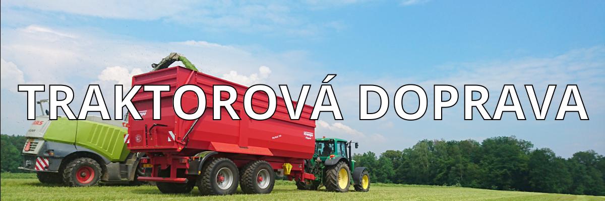 FARMA SIKORA, JOHN DEERE 6920, AGROSLUŽBY, TRAKTOROVÁ DOPRAVA